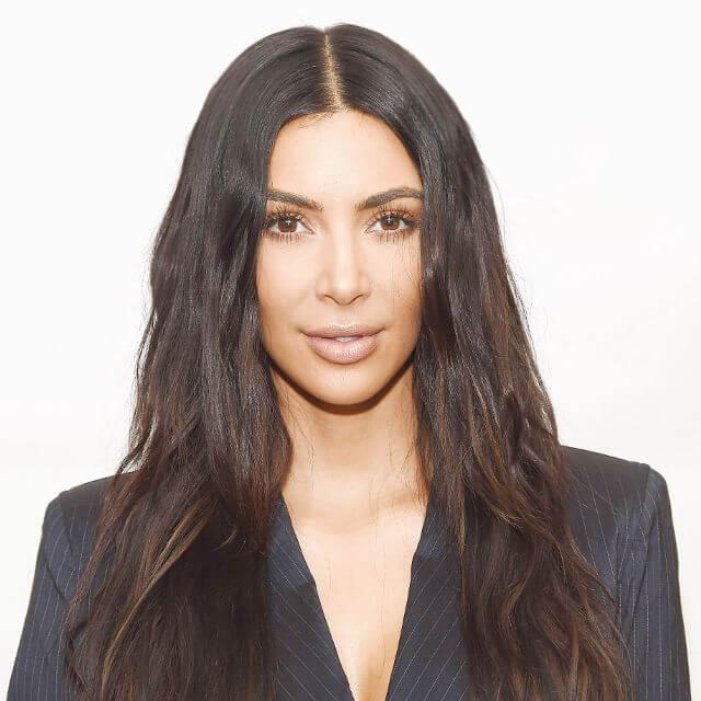 pics of kim kardashian face