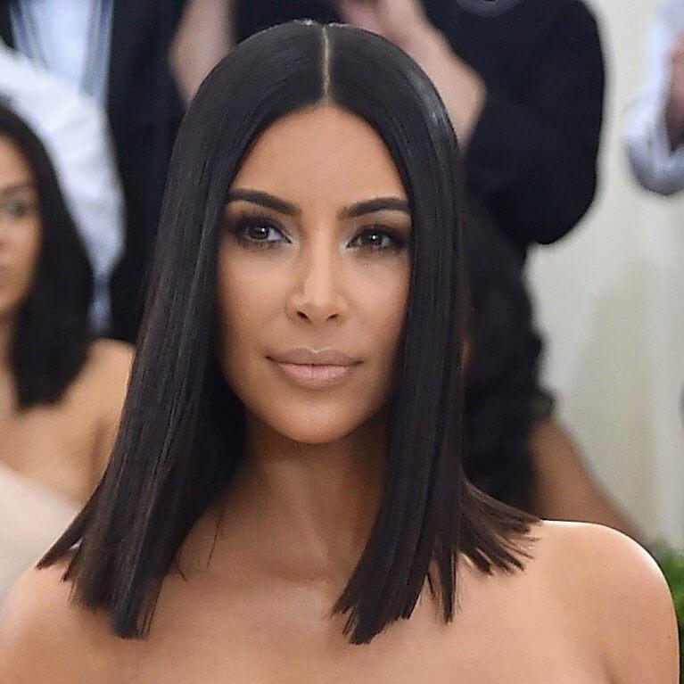 cute face of kim kardashian