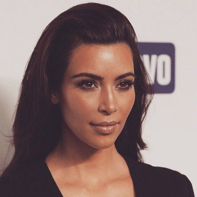 makeup of kim kardashian