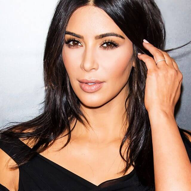kardashian west face photo
