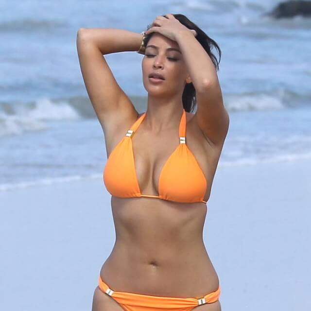 real pics of kim kardashian mexico