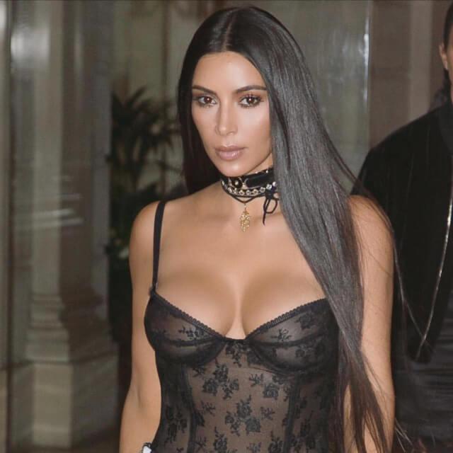 pics of sexy real kim kardashian