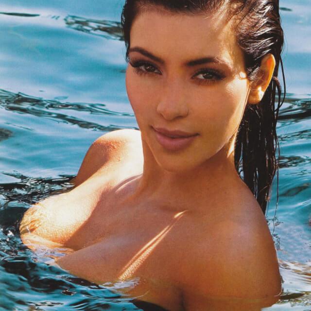 real pics of kim kardashian sexy