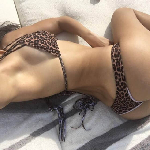 big beach real bikini photos ass kourtney kardashian