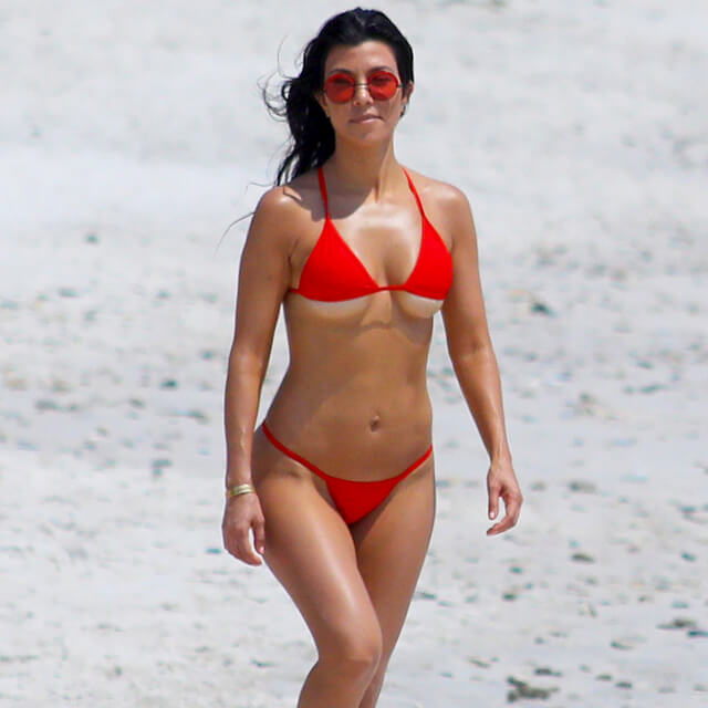 kourtney bikini real pics ass