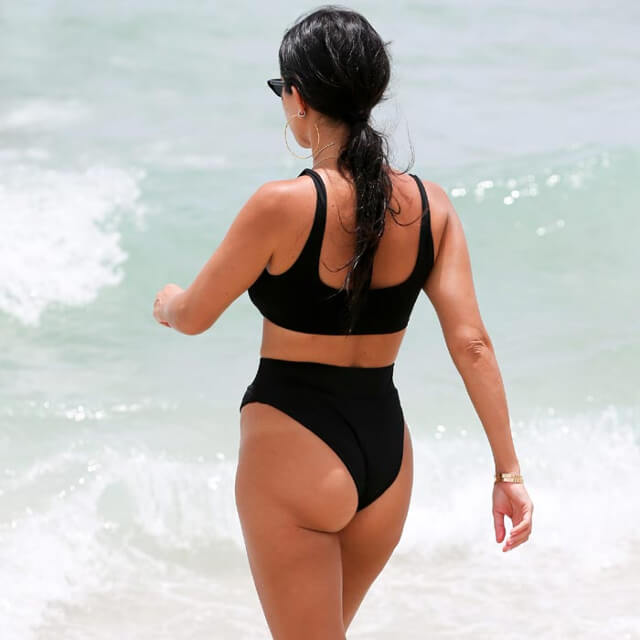 real pics of kourtney kardashian bikini 2018