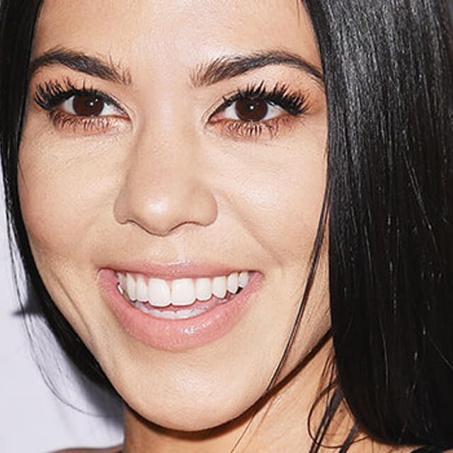 kourtney kardashian makeup after before
