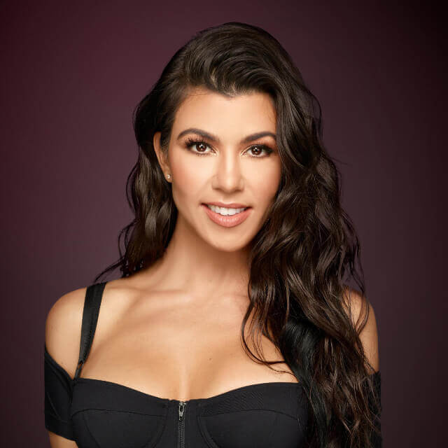 zoom face of kourtney kardashian