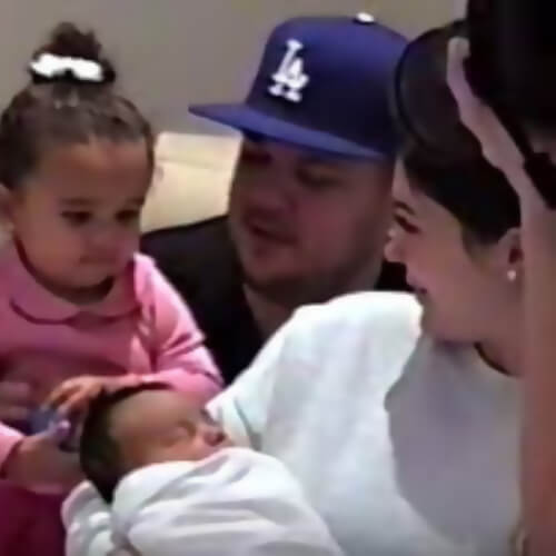 cute baby photos of kylie jenner