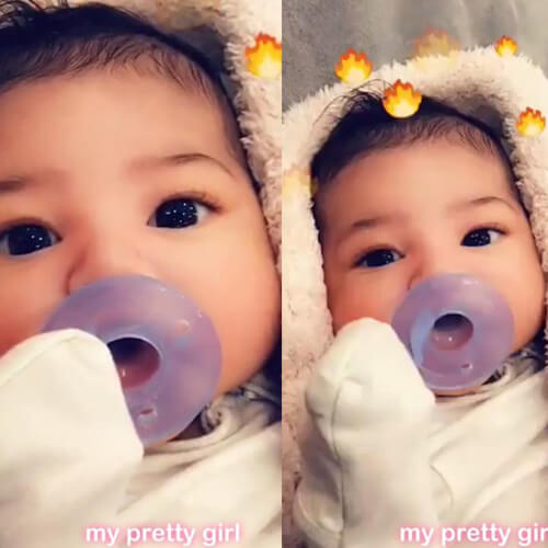 kylie jenner baby pictures