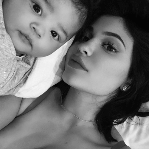kylie jenner baby photo picture