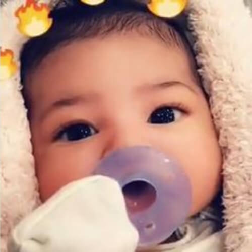 image of kylie jenner baby