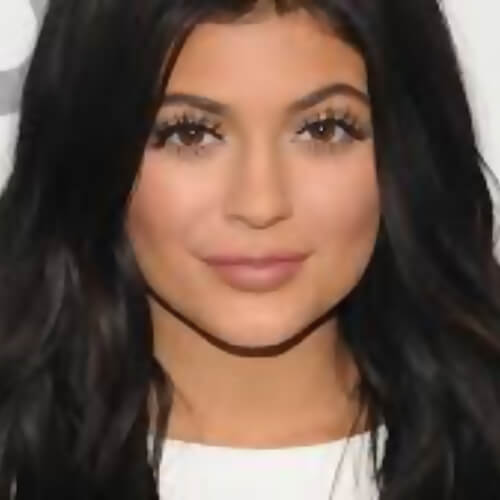 kylie jenner face pics