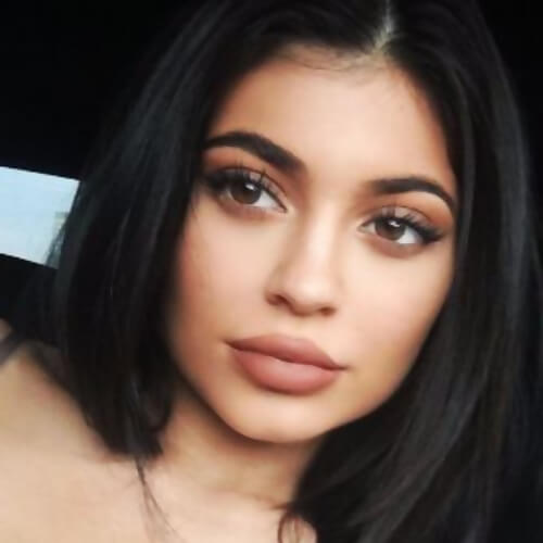 pics of kylie jenner face