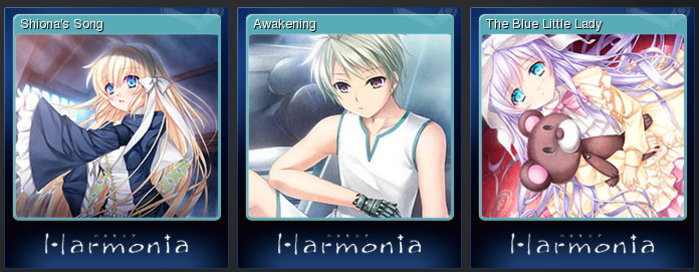Harmonia Theme Songs and Trading Cards Now on Steam!
