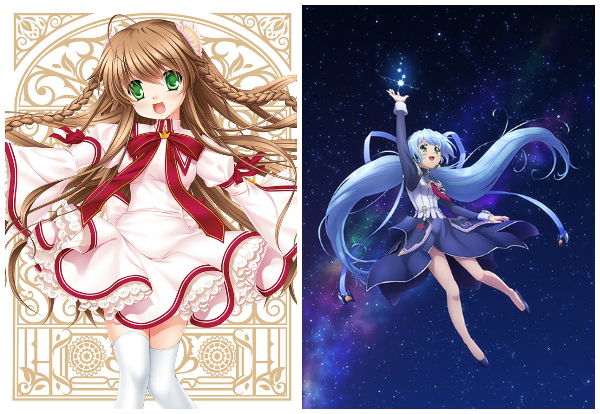 Rewrite Vol. 1 and planetarian Blu-Rays Released