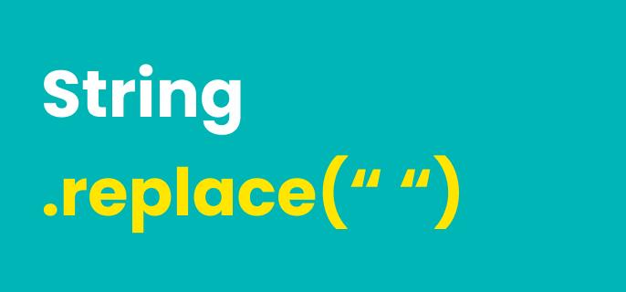 Sustituir los espacios en blanco de una cadena de caracteres en JavaScript 🔥