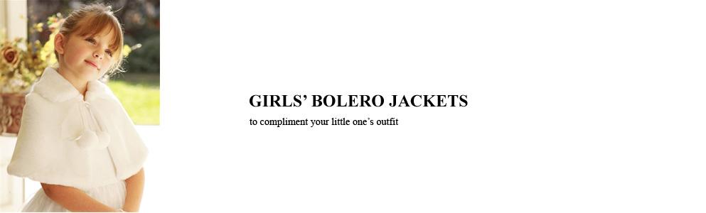 Girls Bolero Jackets