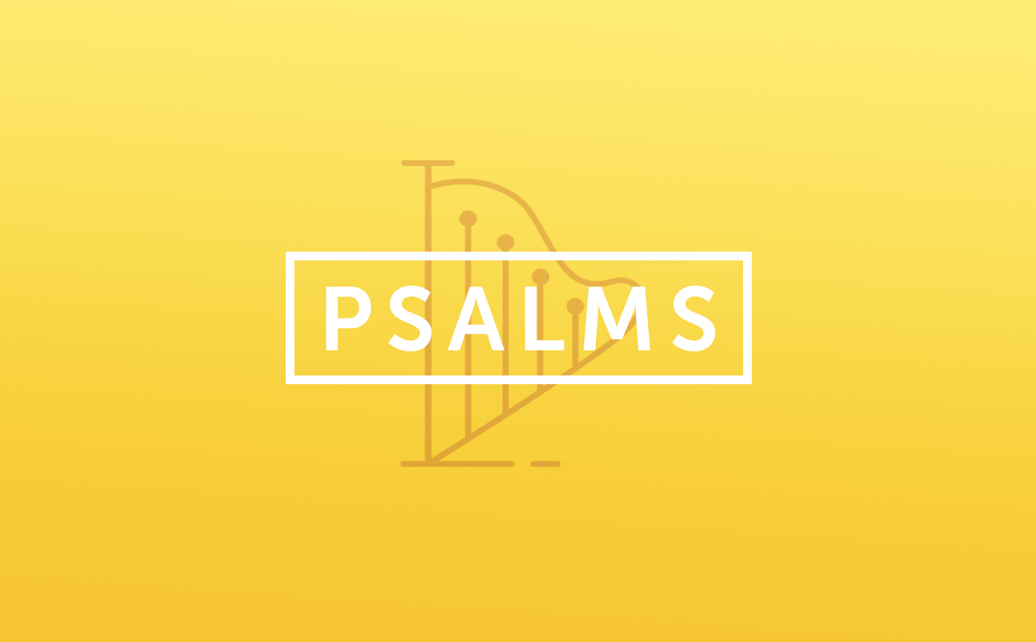 New Sermon Series this Sunday: Psalms | King's Cross Church