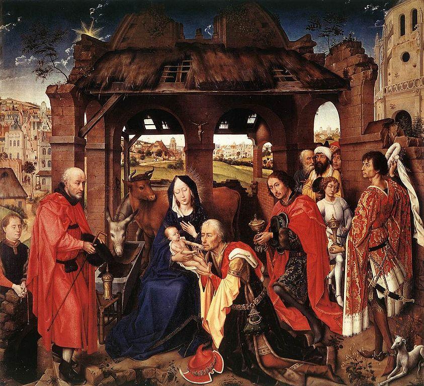 843px columba altarpiece  rogier van der weyden