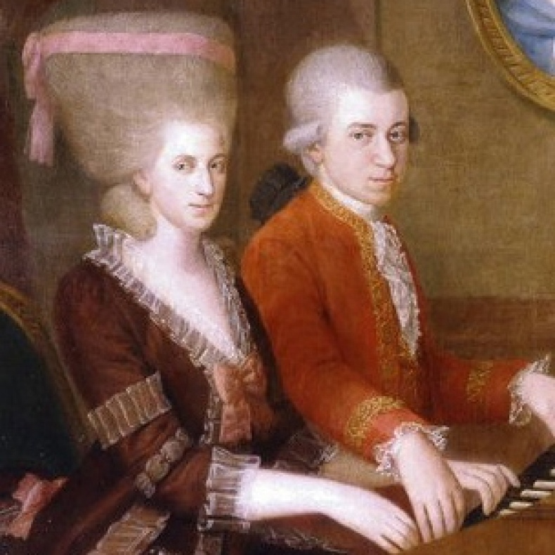 Mozart and nannerl