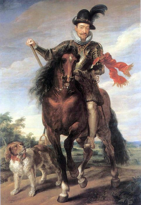 Sigismund at horse
