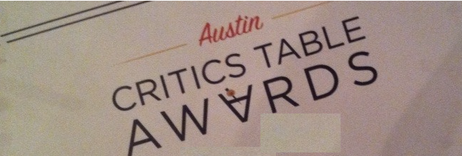 Austin critics table awards certificate part