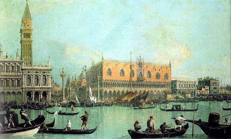 800px canaletto  veduta del palazzo ducale