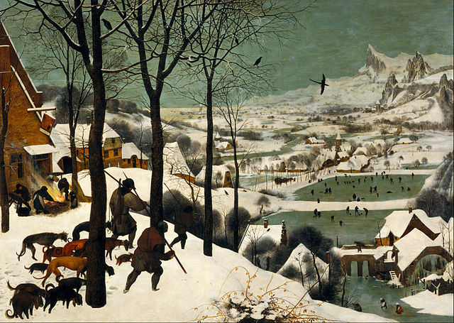 640px pieter bruegel the elder   hunters in the snow (winter)   google art project