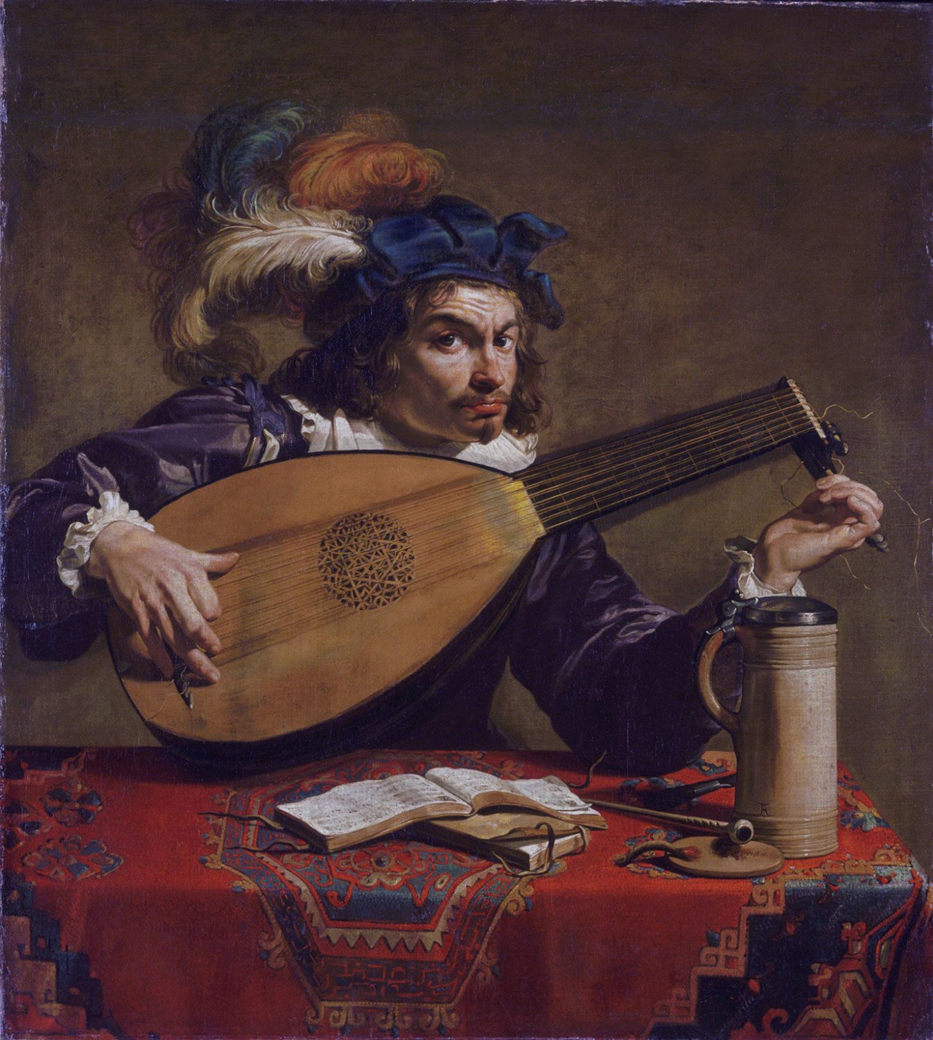 Rombouts lute player