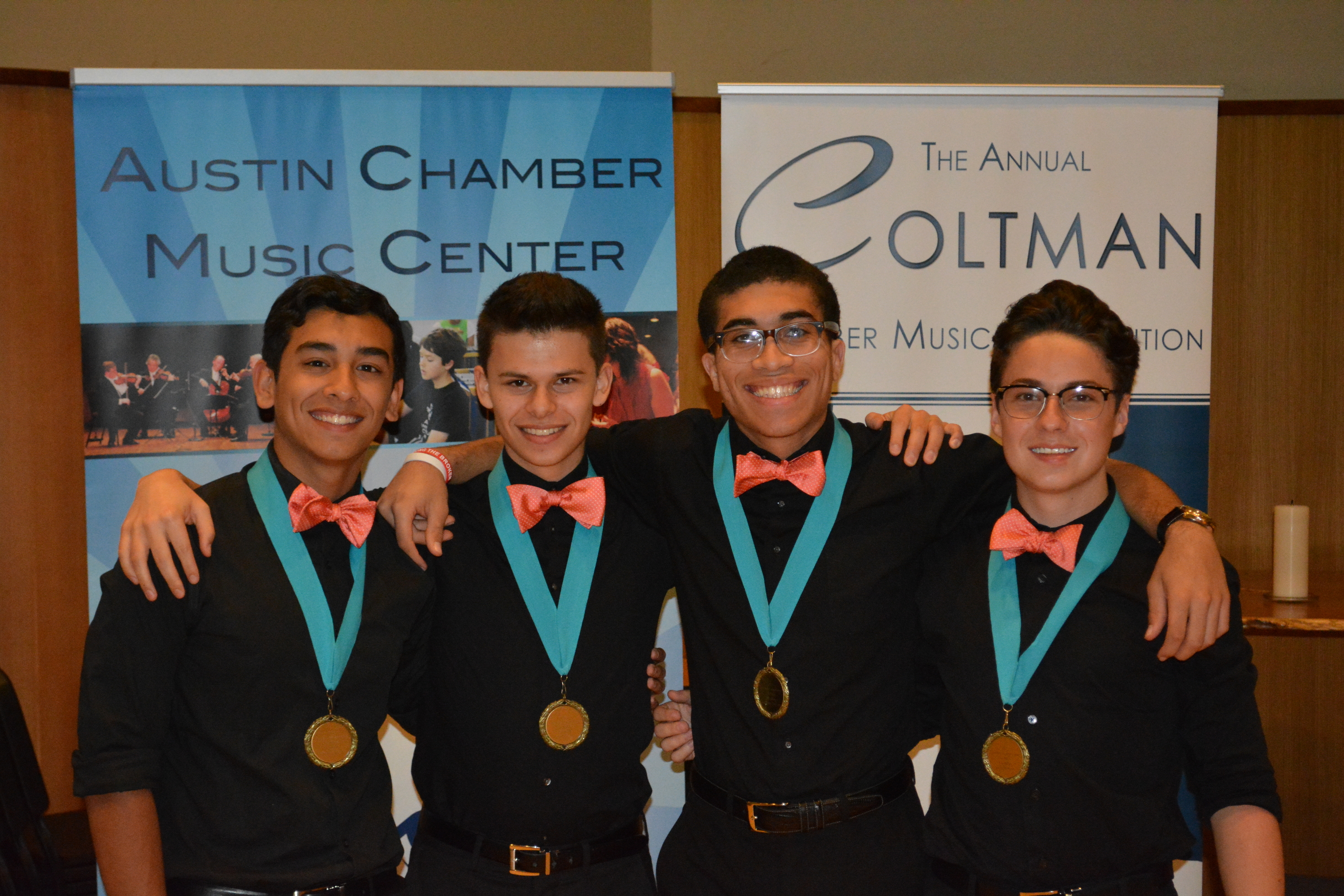 2017 coltman chamber music competition junior division 1st place ensemble