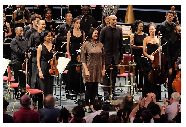 Chineke photo at proms 2017