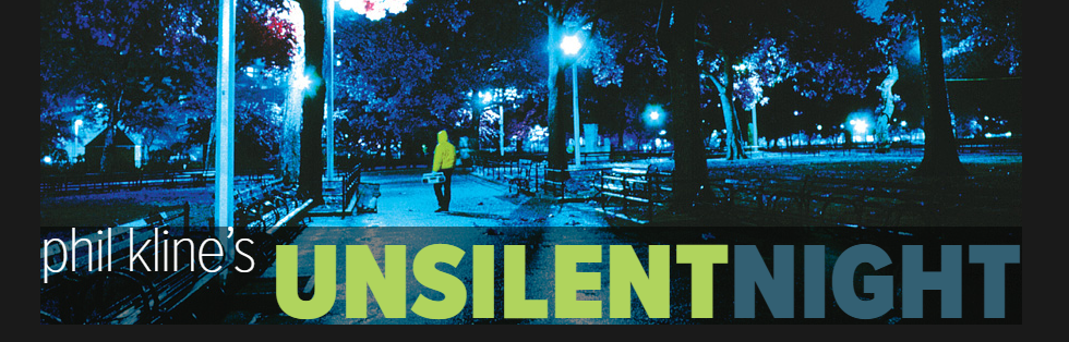 Unsilent night logo