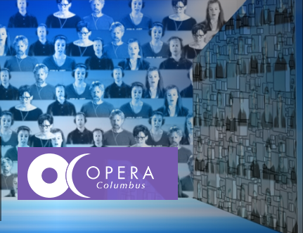 Opera columbus virtual choir with logo