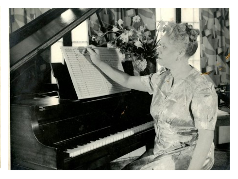 Florence price at the piano