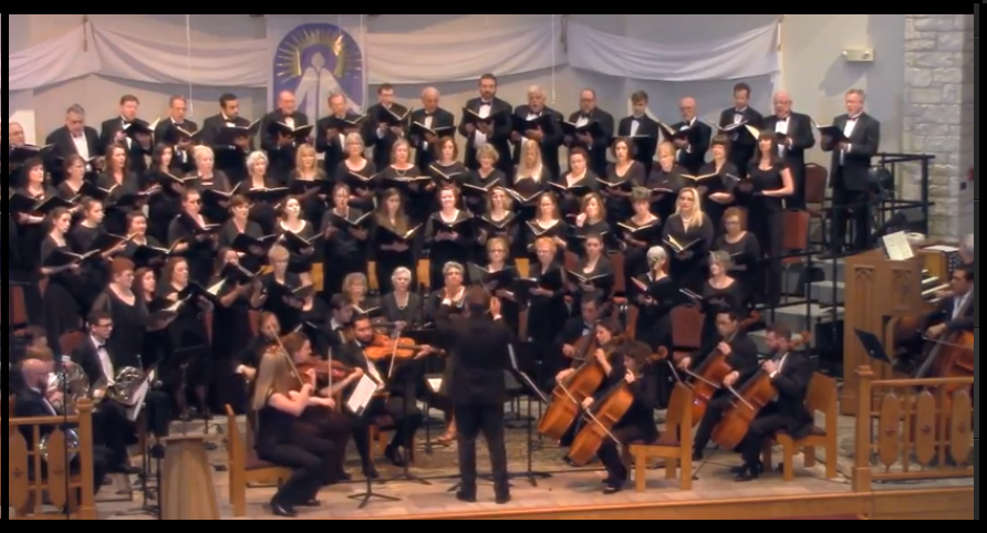 Round rock comm choir pic