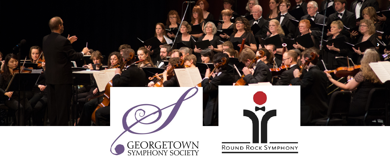 Round rock symphony shot with gtown and rr logos