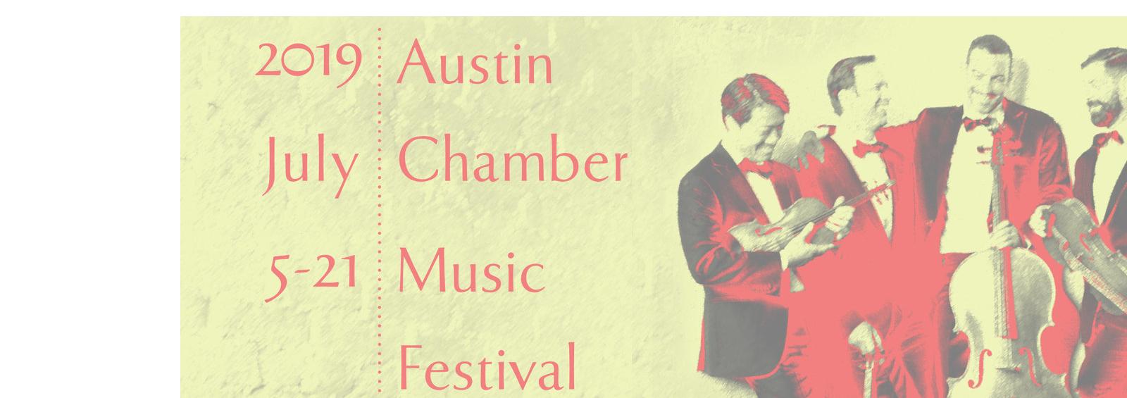 2019 austin chamber music festival poster