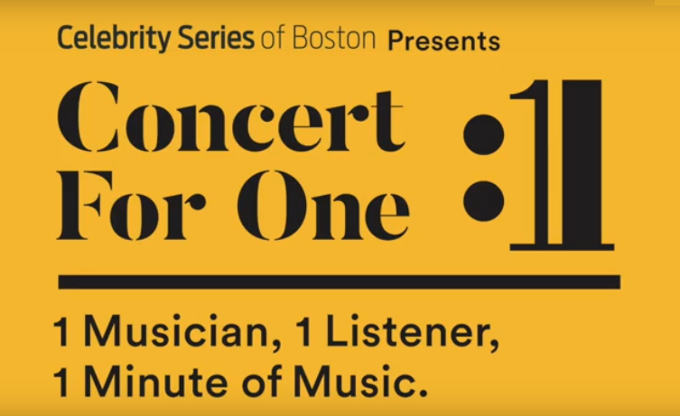 Concert for one logo