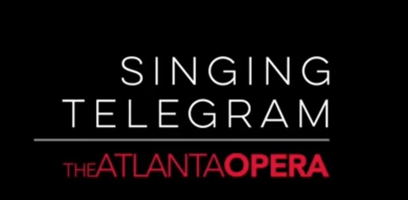 Singing telegram   atlanta opera logo