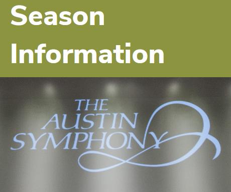 Austin symphony 2020 season info pic