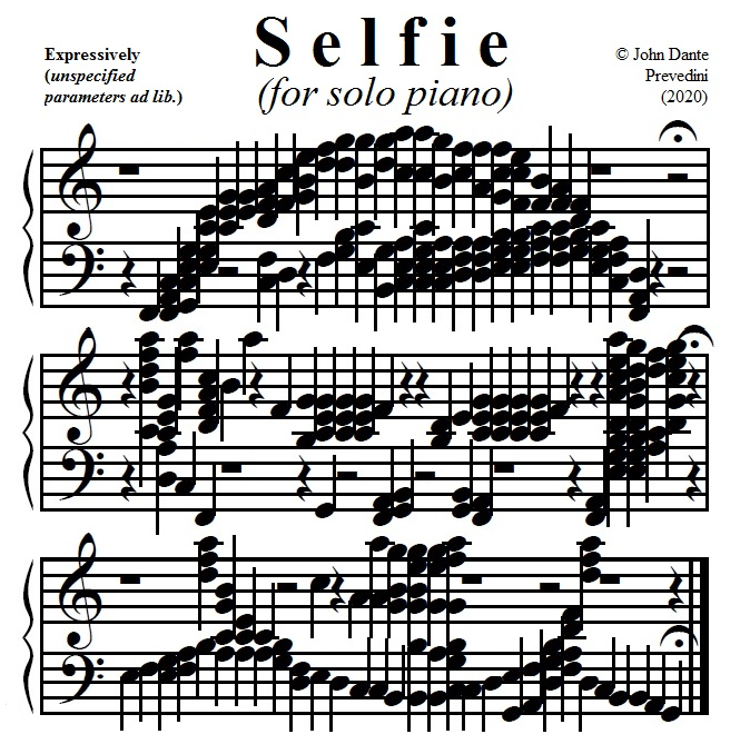 Selfie music photo