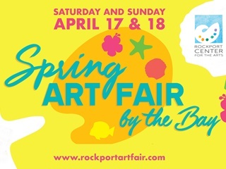 Rockport spring art fair by the bay poster 320x240 rv