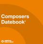 Composers datebook