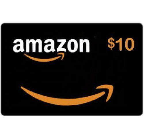بطاقة رصيد امازون 10$ بسعر 10$