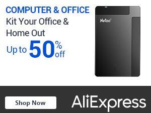 علي اكسبرس خصم حتى 50% على قسم الكمبيوتر