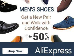 تخفيض حتى 50% على احذية الرجال