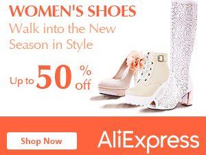خصم حتى 50% على احذية النساء