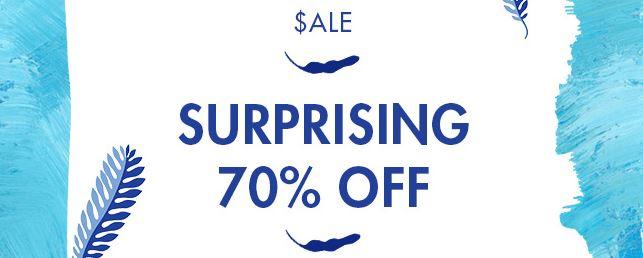 خصم جولي شيك 70% على منتجات محددة