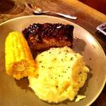 Meatloaf, Mashed Potatoes, Corn <span>©  </span>